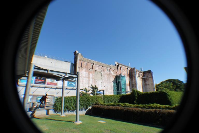 The main Powerhouse buildingO prédio principal da Powerhouse