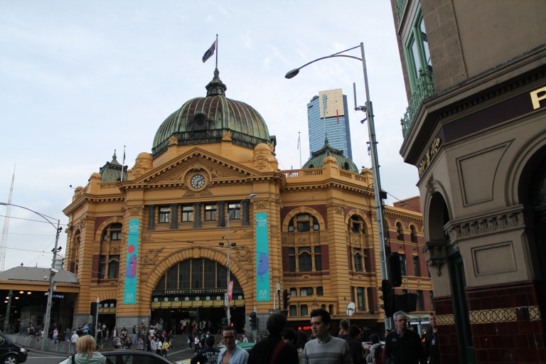 Flinders Street Station, Australia's first railway station