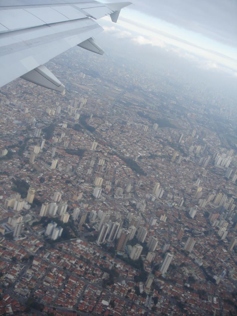 Landing at GRU / Aterrisando em GRU