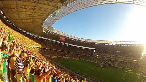 Confederations Cup in Fortaleza / @fmarinheiro