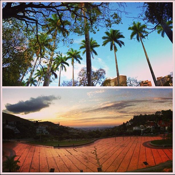 A beautiful horizon in Belo Horizonte / Um belo horizonte, literalmente!