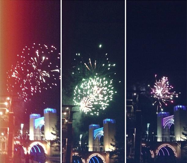 Labor Day fireworks / Fogos de artíficio do Dia do Trabalho