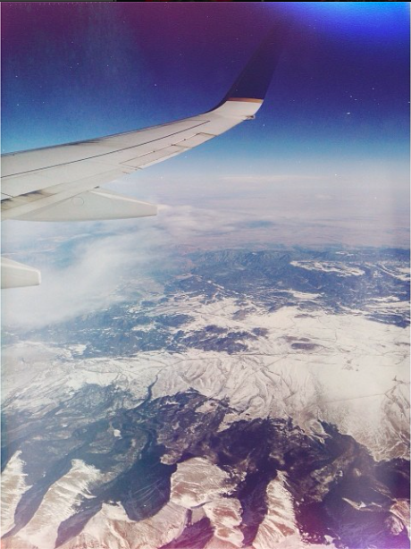 Spent Boxing Day flying from Houston to Seattle, then driving to Vancouver / Passei o dia depois do Natal dentro de um avião, indo de Houston para Seattle, depois de carro até Vancouver