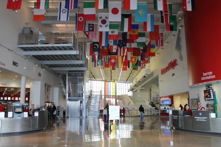 Boeing Everett Factory lobby